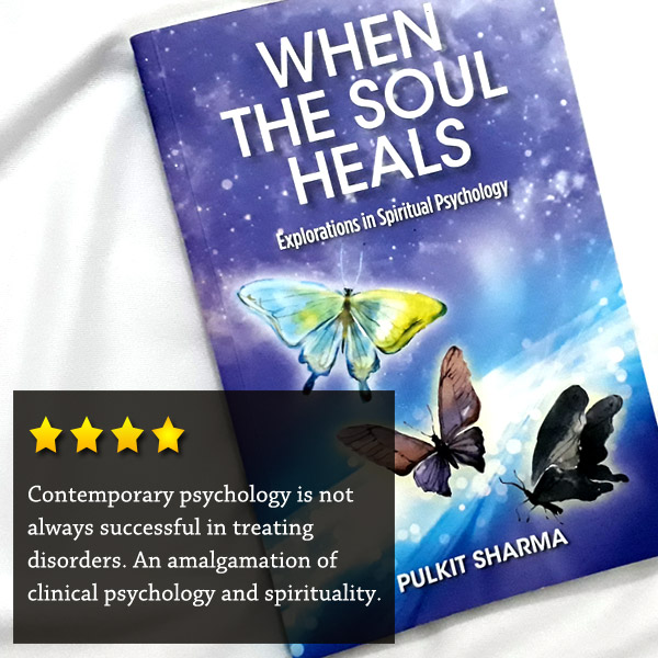 Contemporary psychology is not always successful in treating disorders. An amalgamation of clinical psychology and spirituality.