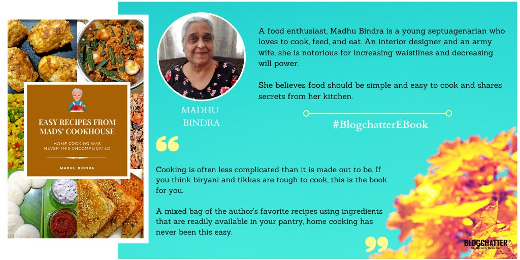 Easy Recipes from Mads' Cookhouse by Madhu Bindra Author Interview