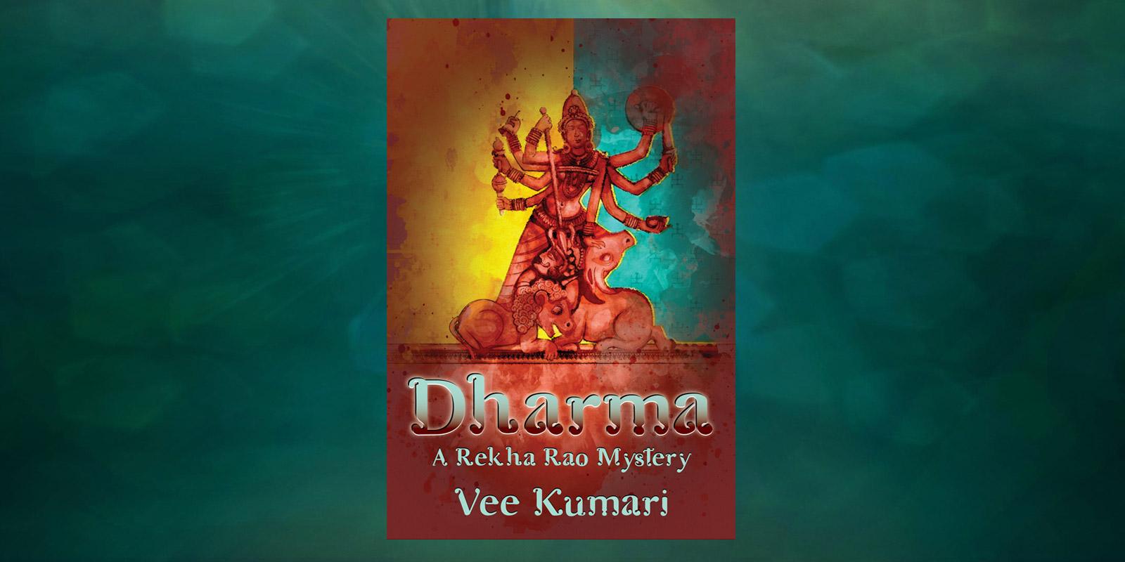 Dharma-A-Rekha-Rao-Mystery-by-Vee-Kumari-Header