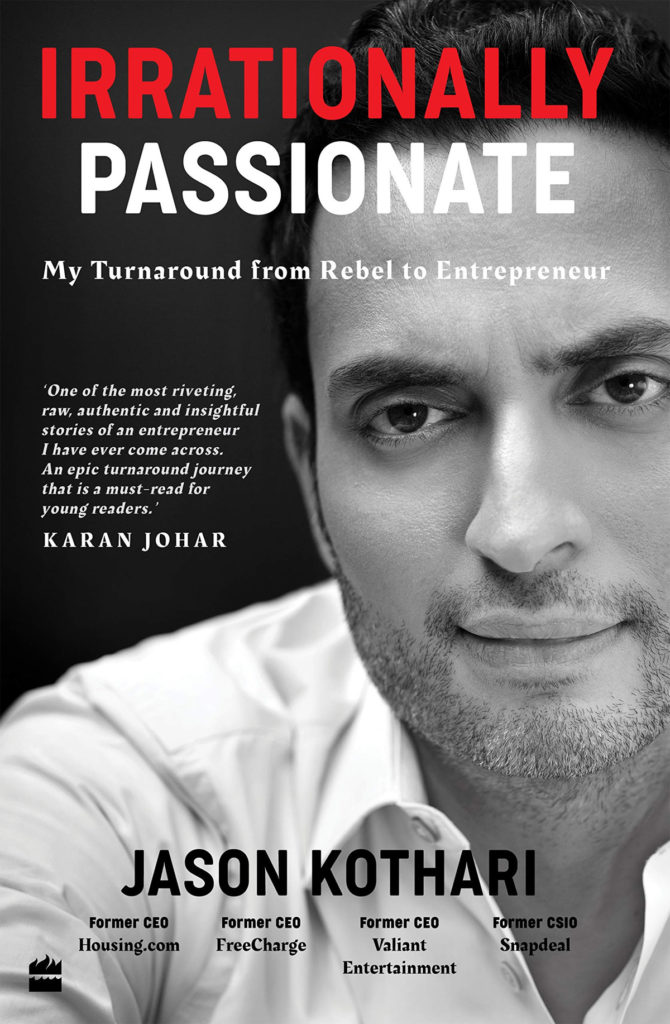 Irrationally Passionate by Jason Kothari Book Review