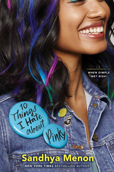 Blog Tour: 10 Things I Hate About Pinky by Sandhya Menon Book Review