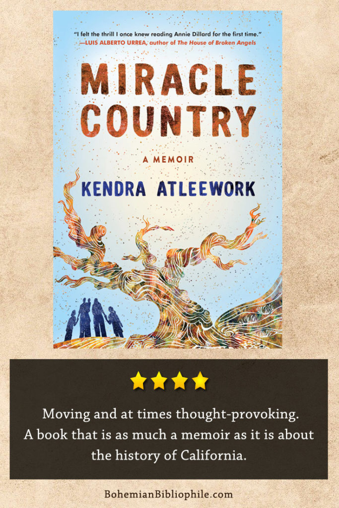 Moving and at times thought-provoking. A book that is as much a memoir as it is about the history of California.