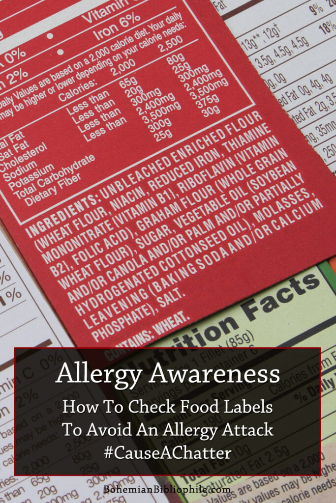 Reading labels can appear to be daunting. I share tips on how to read them to avoid allergy attacks. Tips that I swear by.