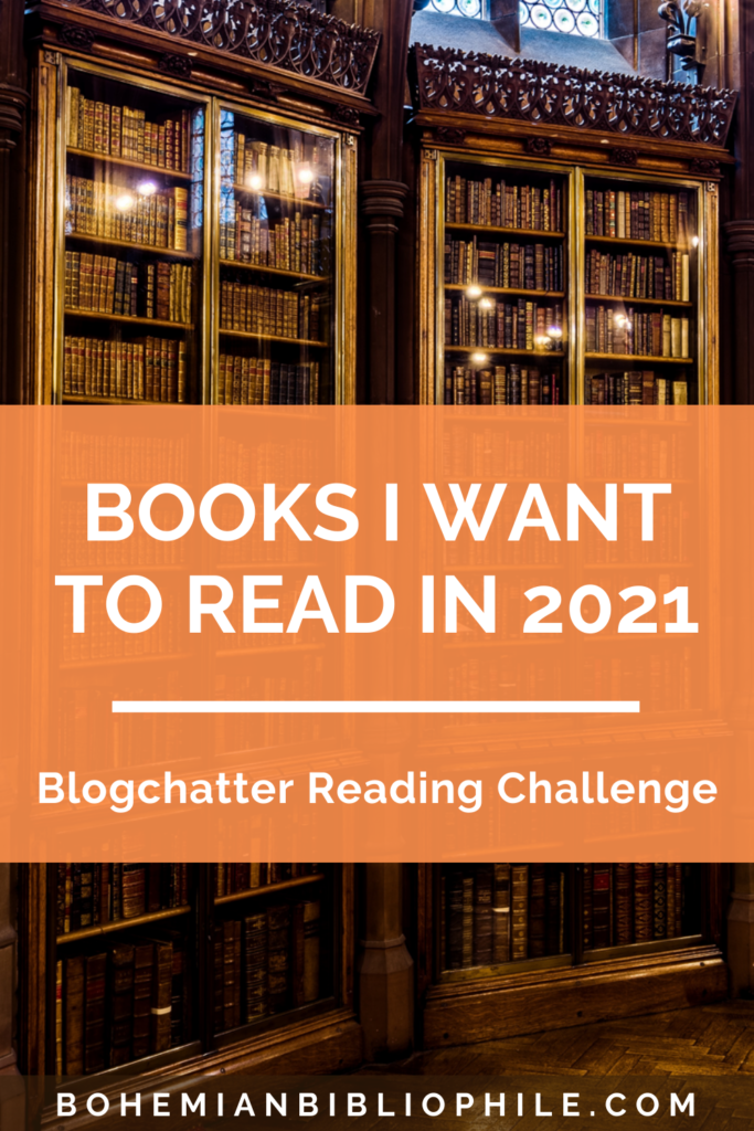 Blogchatter Reading Challenge And The Books I Want To Read In 2021