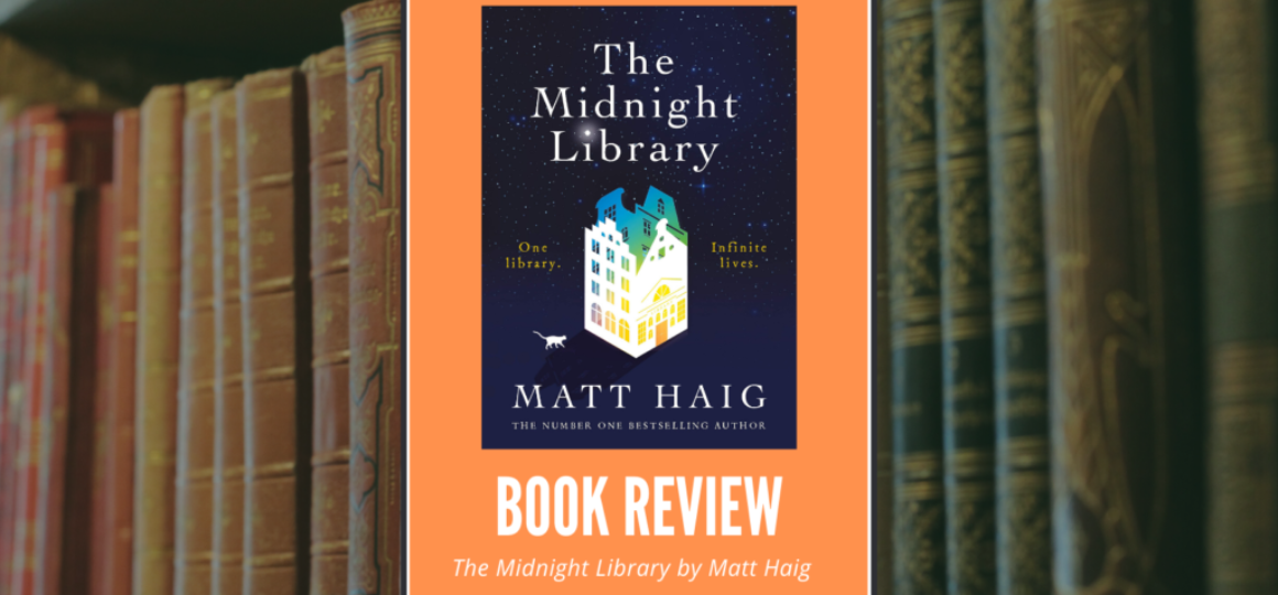 The Midnight Library by Matt haig Header1