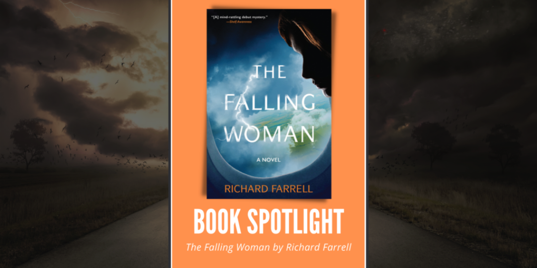 The Falling Woman by Richard Farrell Header