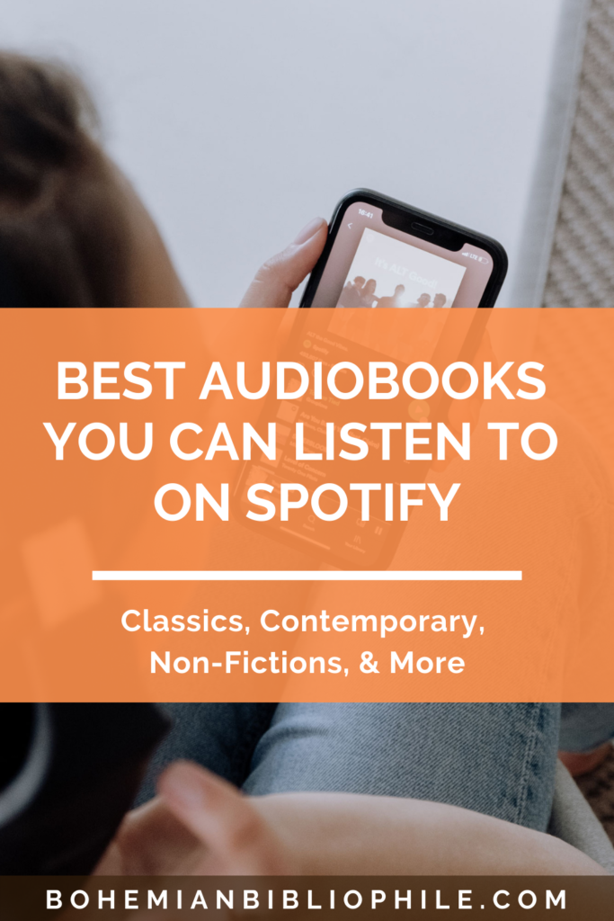 Best Audiobooks You Can Listen To On Spotify