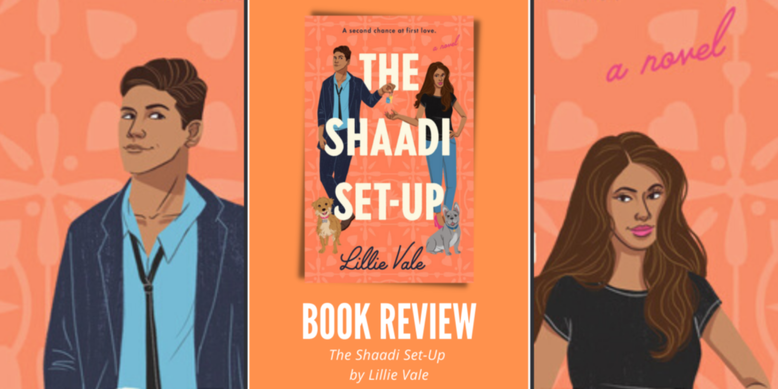 The Shaadi Set-Up by Lillie Vale Header Book