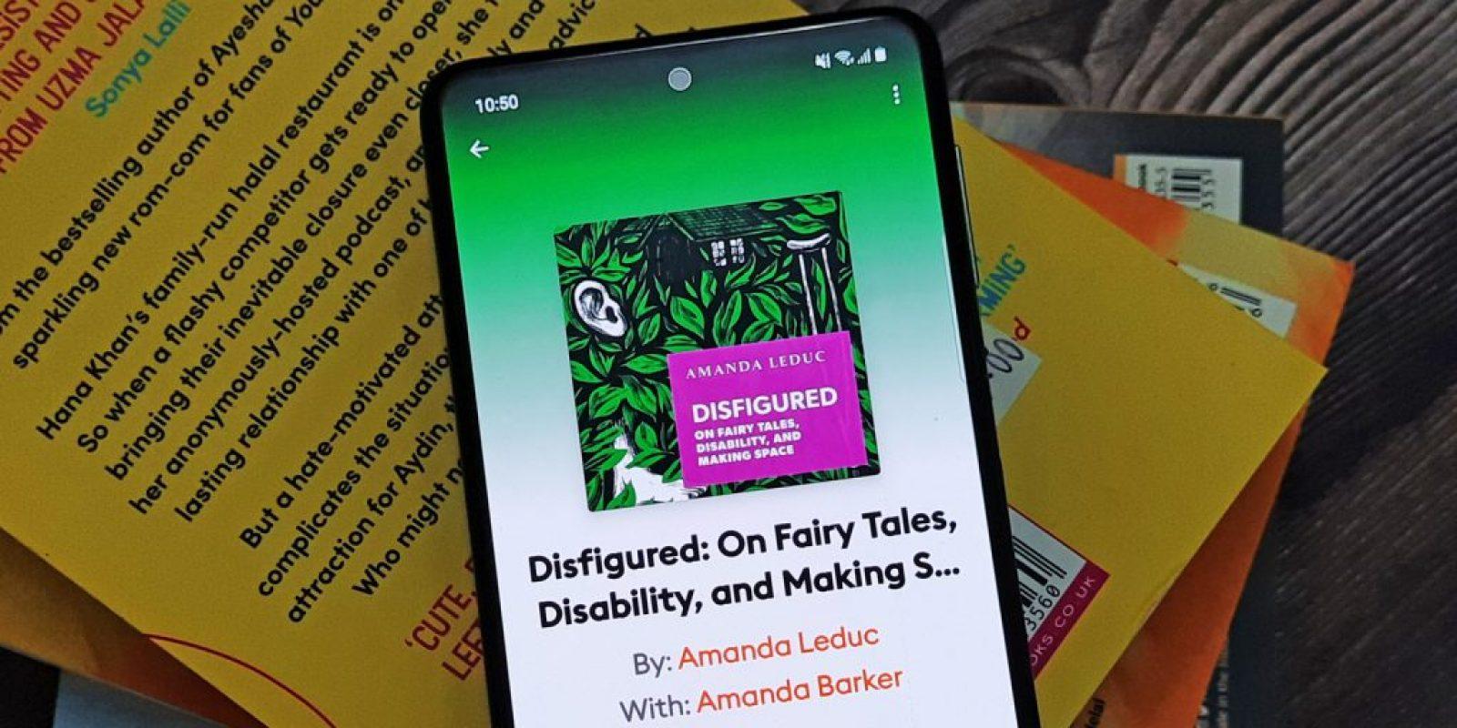 Disfigured by Amanda Leduc Book Header